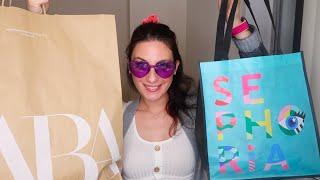 Sephora ve Zara Alışverişim (Yeniden Merhaba Amerika)