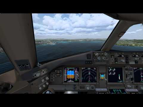 [P3D] Arrival at Martinique Fly Antilles Airways VA