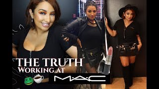 THE TRUTH! WORKING AT MAC | Storytime, Advice, & Interview Prep!