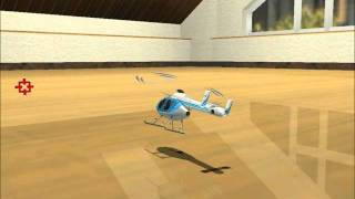 RC Helicopter Indoor Adventure - Circle Strafe