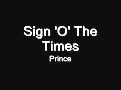 Prince - Sign O' The Times - Excellent Cover
