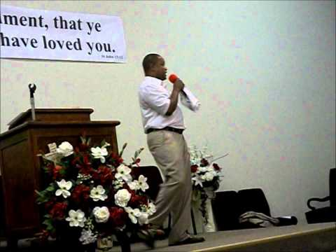 "Pastor Wesley D. Miller Sr. ""Teaching on Evangelism"""