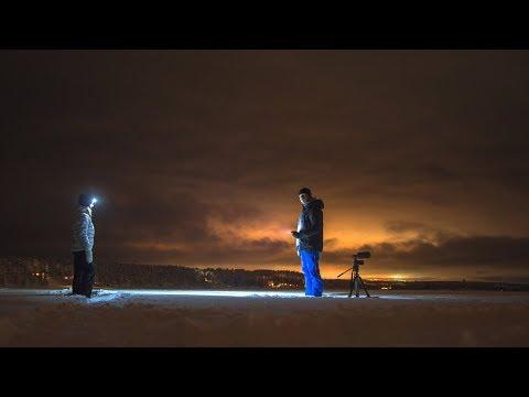 Robin Trygg & Emilia Ödling på Icehotel i Jukkasjärvi