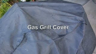 Outdoor Barbecue Gas Grill Cover For Bbq Grills Like Weber & Char-broil By Brinkman In Extra Large