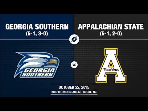 2015 Week 8 - Georgia Southern at Appalachian State