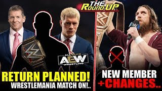 SURPRISING RETURN Still PLANNED For WM!, WWE Back Out Of Match, AEW Interested In Batista - Round Up