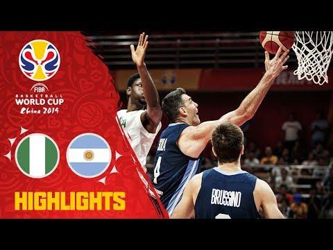 Nigeria v Argentina - Highlights - FIBA Basketball World Cup 2019