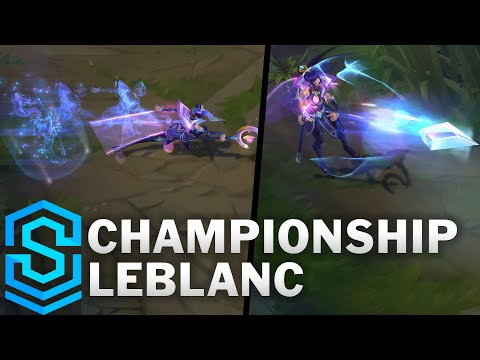 Championship LeBlanc Skin Spotlight - League of Legends