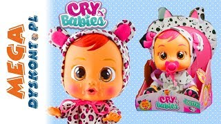 Cry Babies • Interaktywne bobasy • płacząca lalka • unboxing