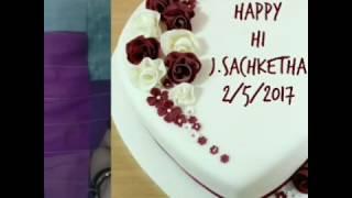 Happy Birthday Day Sakshi   2- 5-2017