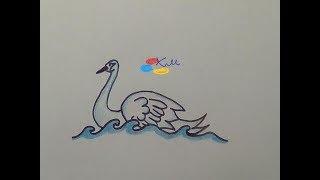 Казка Лебідь щука і рак та уроки малювання на каналі #КазочкиМалюночки