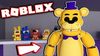 Fnaf Roblox Fredbear and Friends Family Restaurant Secret Animatronics Unlocked