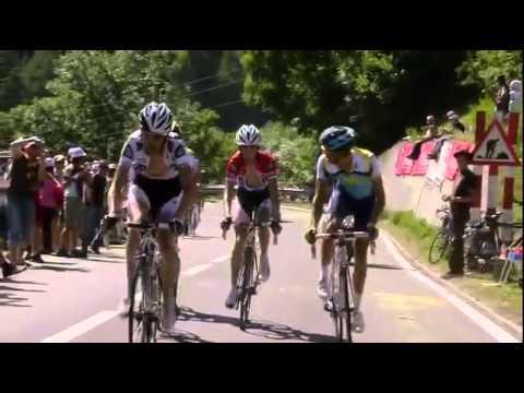 The Armstrong Lie   Contador attacks Armstrong