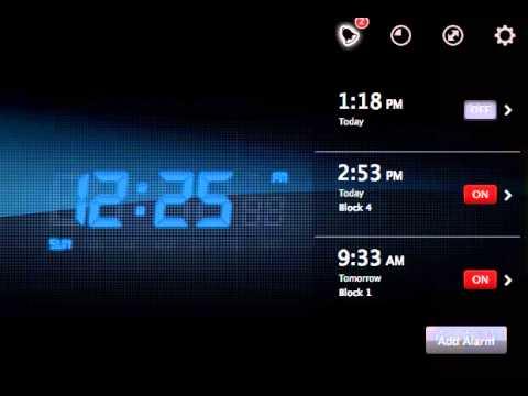 My Alarm Clock App