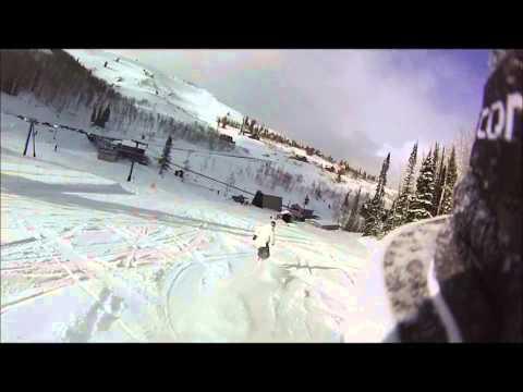 Snowboarding Powder Mountain, Utah 3.22.2013