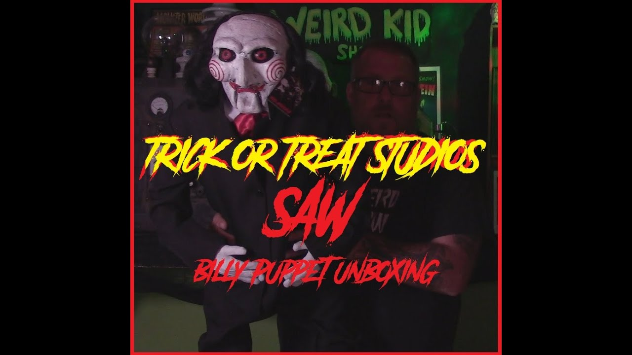 Download Trick or Treat Studios SAW Billy puppet unboxing.