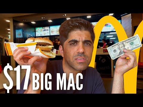 $17 McDonald's Burger: Lebanon's Currency Crisis!