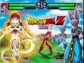 DBZ Revival of Frieza in MUGEN - NEW Beerus & Goku Battle of Gods