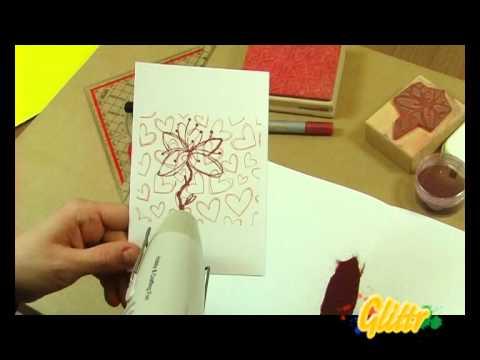 karten basteln: glückwunschkarten selbst gestalten - youtube, Einladung