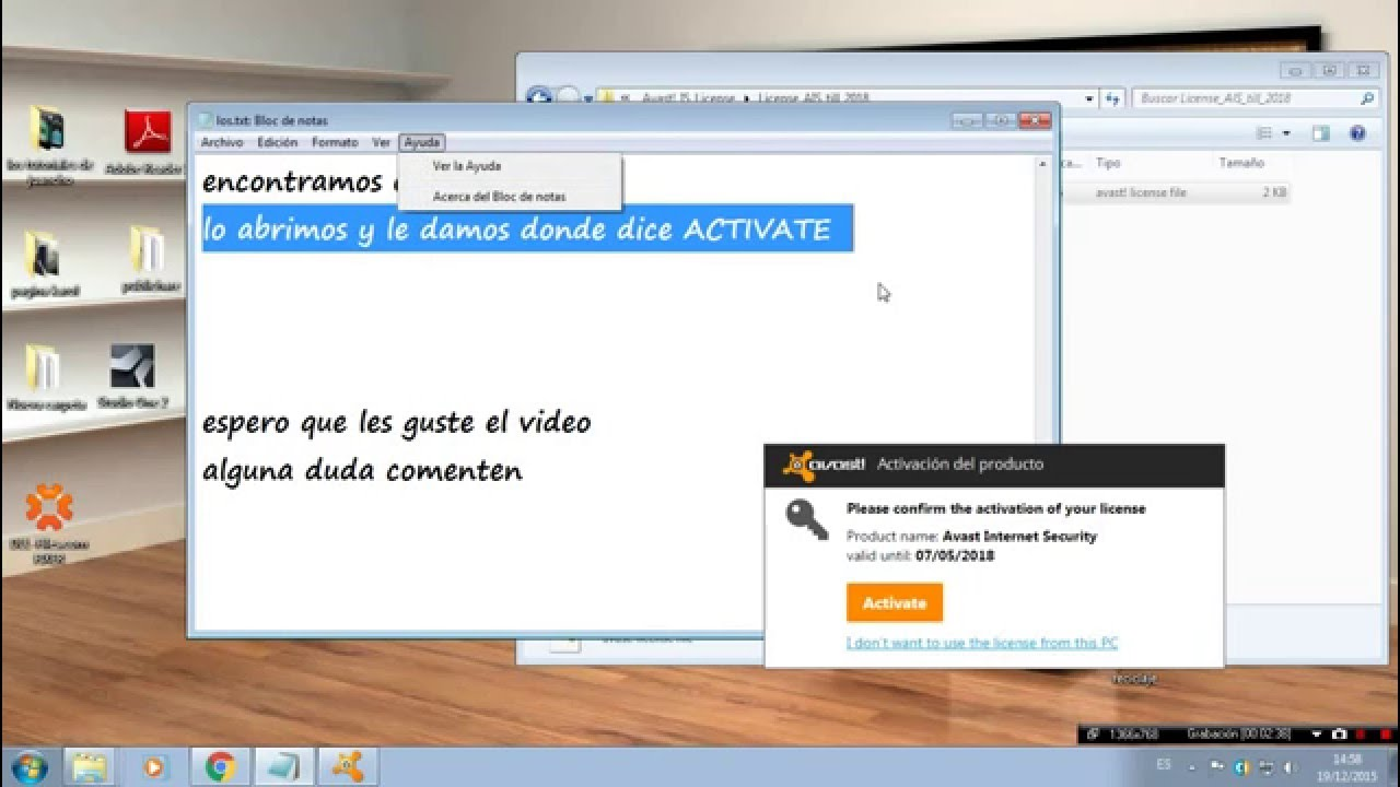 Serial Para Avast 1112245 Youtube