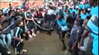Maradona teaches soccer skills in South Africa
