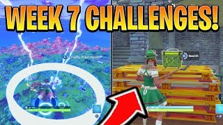 Fortnite ALL WEEK 7 HERAUSFORDERUNGEN GUIDE! - Secret Star, HUNTING PARTY Woche! (Battle Royale Staffel 6)
