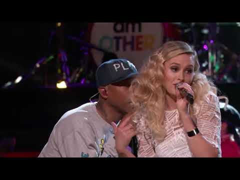 Free Download The Voice 2016 Hannah Huston And Pharrell Williams   Finale   Brand New Mp3 dan Mp4