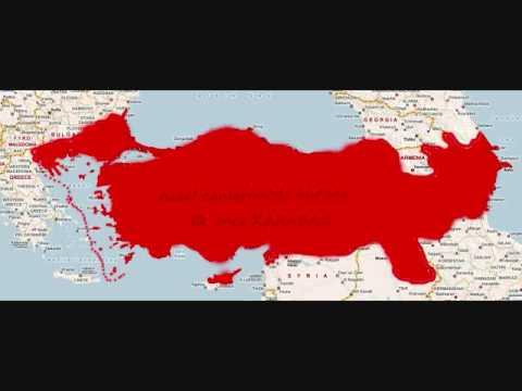 New Borders of the Turkish Republic 2023-2053