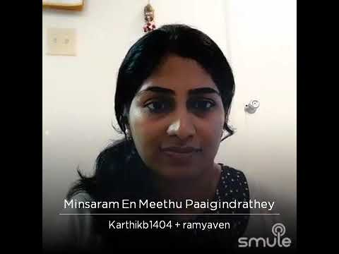 Minsaram En Meethu Paiginrudhe From Run - Smule