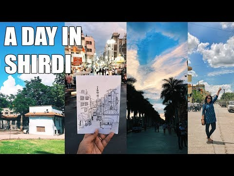 Shirdi Vlog /Life in an Indian Town / Indian Street Food / Indian Culture