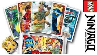 Карточки лего НИНДЗЯГО Ninjago battle cards LEGO // обзор  Аэроджитцу