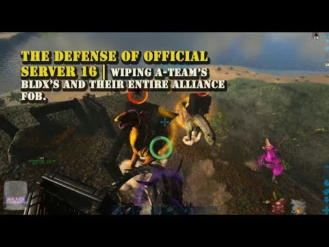 Official PVP : The Defense of OS16 |Defending against A-TEAM | BLDX ETC.
