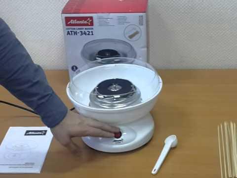 Аппарат для приготовления сахарной ваты ATLANTA ATH-3421