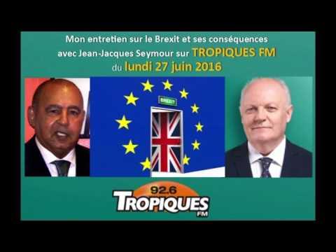 Entretien de François Asselineau avec Jean-Jacques Seymour : Le Brexit et ses conséquences.