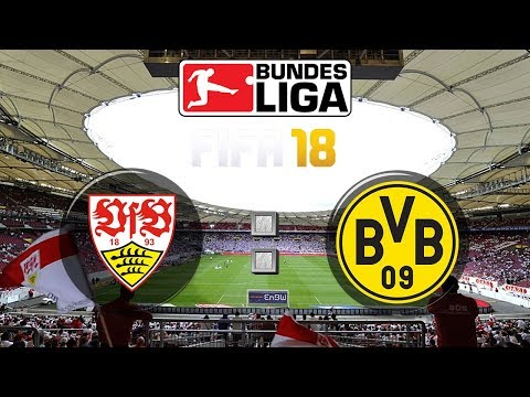 FIFA 18 Bundesliga VfB Stuttgart : Borussia Dortmund | Gameplay Deutsch Livestream