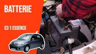 Changer la Batterie CITROEN C3 1.1i 🔋