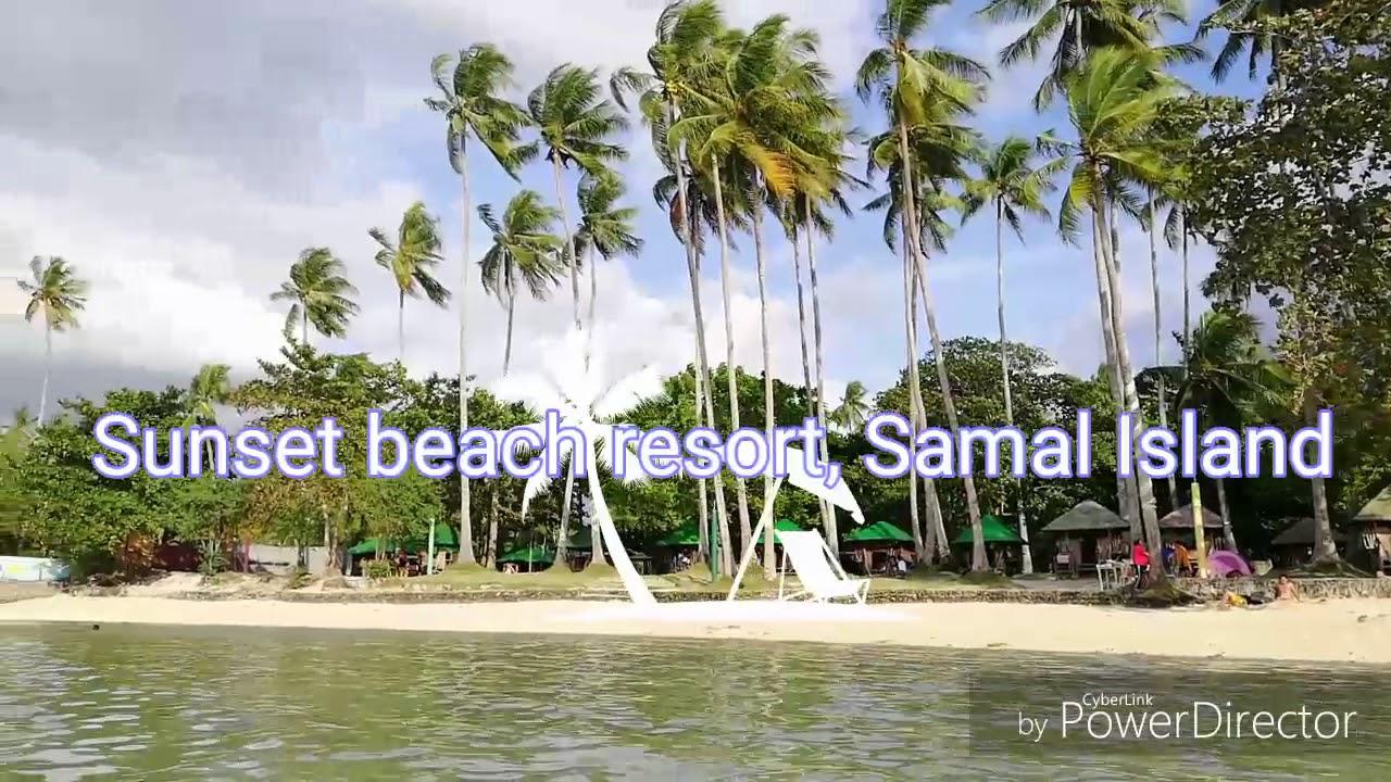 Sunset Beach Resort Samal Island Youtube