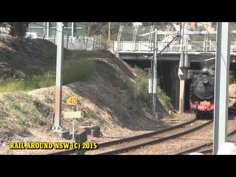 Rail Around New South Wales - May 2015