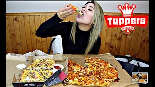 TOPPERS PIZZA   PANIC ATTACKS AND ANXIETY   (MUKBANG)