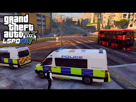 TSG POLICE SUPPORT UNIT | GTA 5 PC LSPDFR | The British Way #124