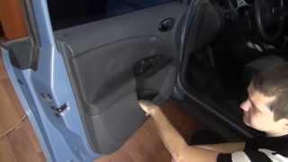 Разборка двери Seat Toledo (door removal)