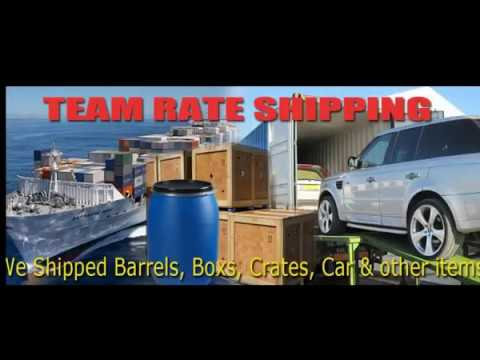 Team Rate Shipping & Transport Ltd,  advertising , shipping to Jamaica  call +447869436503