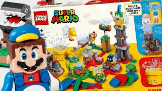 LEGO Super Mario 2021 sets! UNEXPECTED choices, but I'm happy!