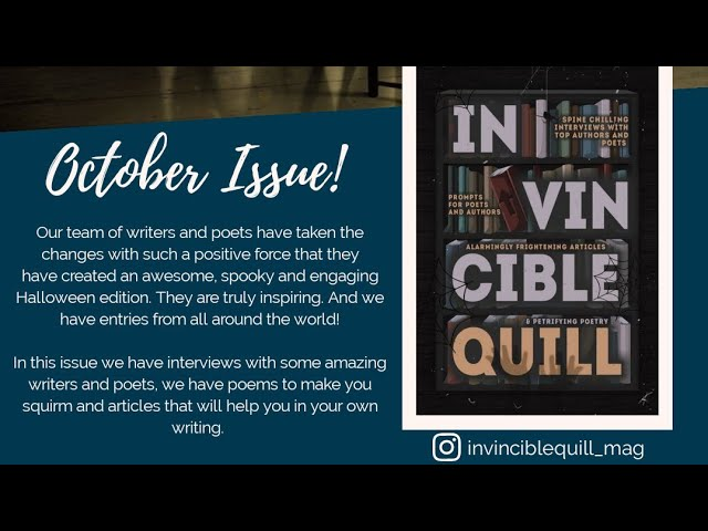 The Invincible Quill Magazine - October Edition
