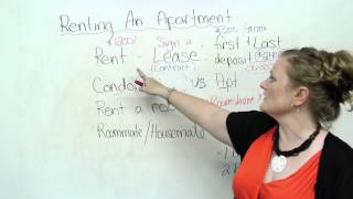 Vocabulary – Renting an Apartment