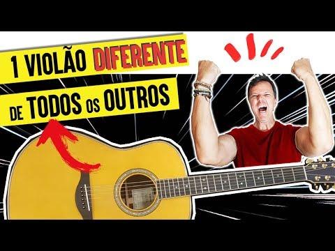 Um violão DIFERENTE de TODOS OS OUTROS (aula de violão)