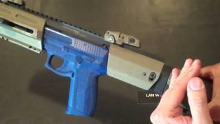 LAN World, Inc. Presents  HERA-ARMS Triarii Pistol Conversion Stock