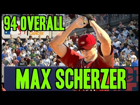 MLB 15 The Show Diamond Dynasty Gameplay 94 Max Scherzer Is A Strikeout Machine!