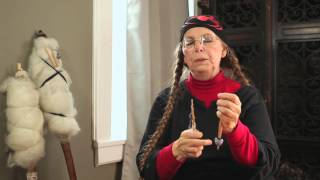 Medieval Hand Spindle Preparation