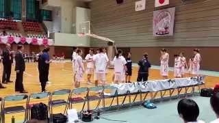 富士通レッドウェーブ スターター紹介 2015年10月18日 山本千夏 動画 23